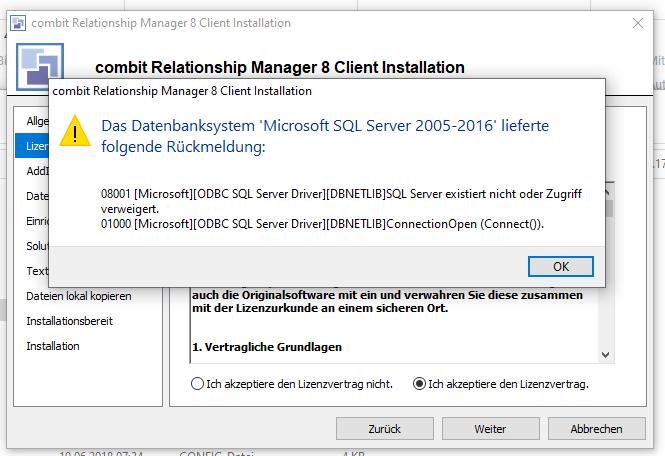 SQL Fehler
